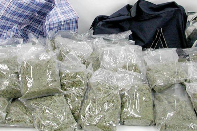 Polizei beschlagnahmt 22,5 Kilo Marihuana