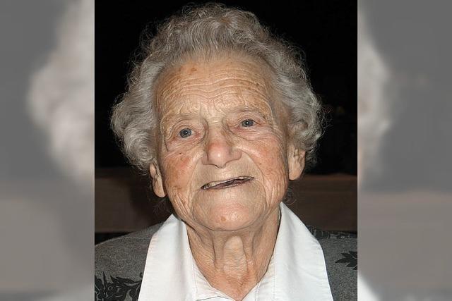 Mit 90 Jahren noch