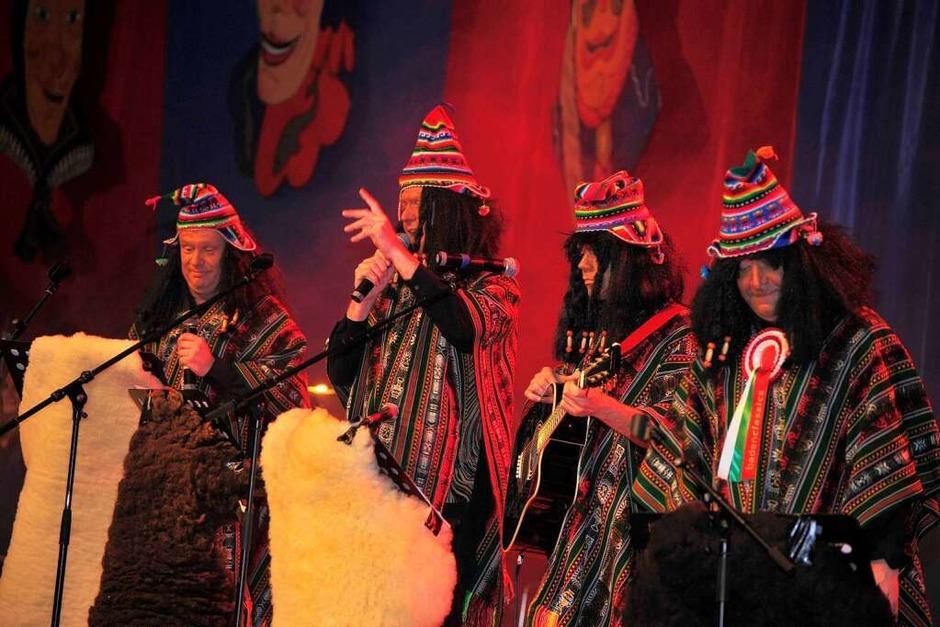Die Los Hecklingeros mit von links James Röderer, Bernd Striegel, Roland Freyler und Johannes Röderer. (Foto: Dieter Erggelet)