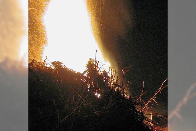 Damit die Feuer kräftig lodern