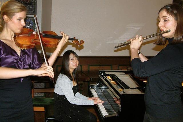 Selten gehörte Komponisten gespielt