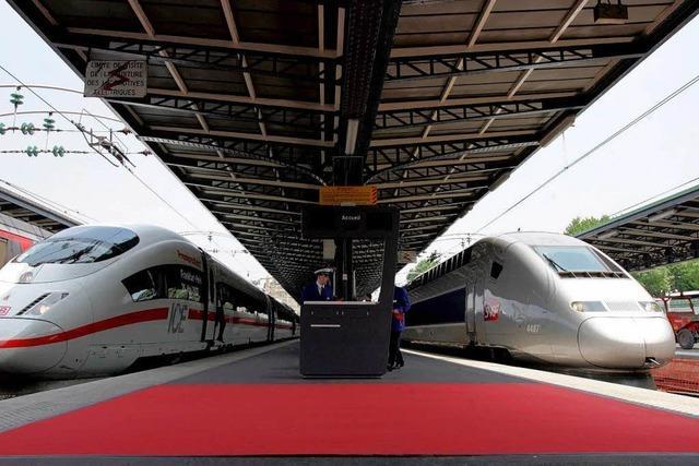 Freiburg bekommt Ende 2012 den TGV