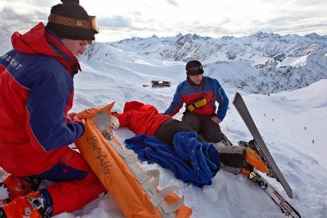 Bergwacht Menzenschwand half bei der Suchaktion