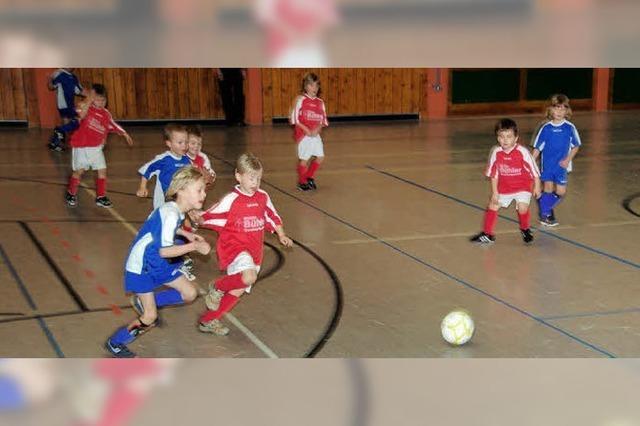 Kleine Kicker mit großem Engagement