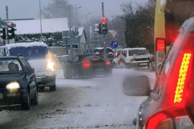 Entschleunigt im Verkehr