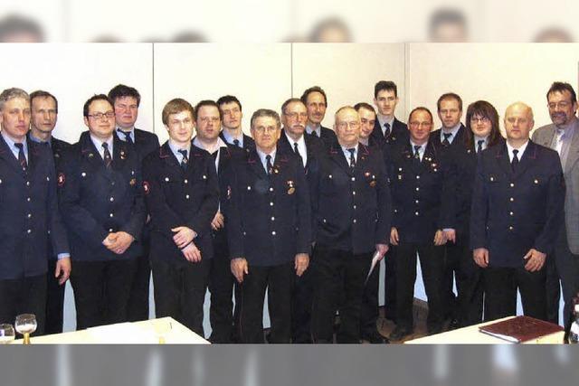 Die Feuerwehr hat im vergangenen Jahr viel geleistet