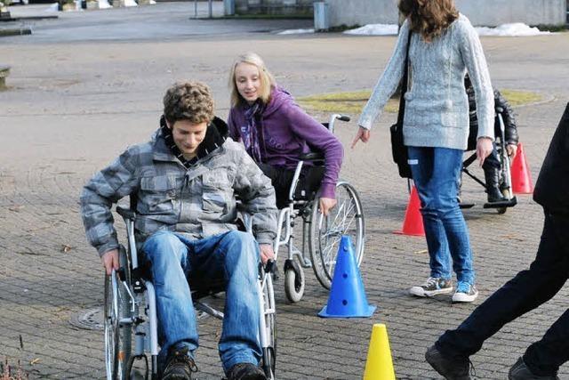 Wie Behinderte leben
