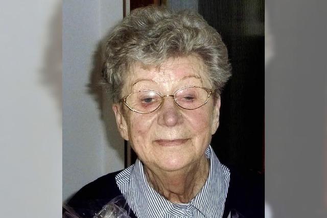 Gerda Walliser wurde 80 Jahre