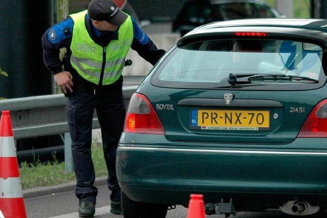 Schengen-Bilanz: Mehr Gewalt gegen Basler Zöllner