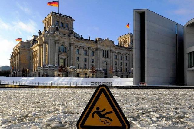 Berlin liegt auf Eis