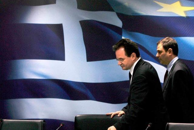 Berlin entwirft Notplan für Athen