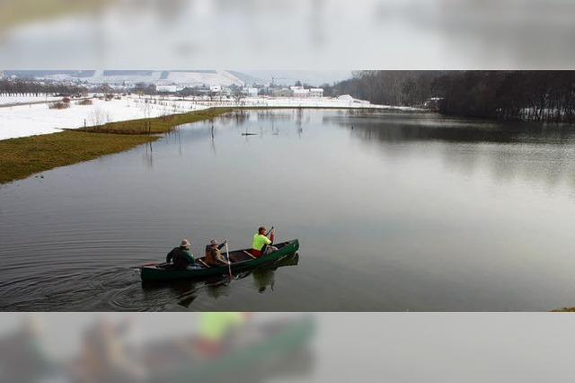 Hochwasser-Testlauf ist erfolgreich