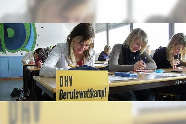 Ein freiwilliger Test für Lehrlinge