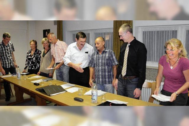 Diskussionsfreudige Dorfparlamente