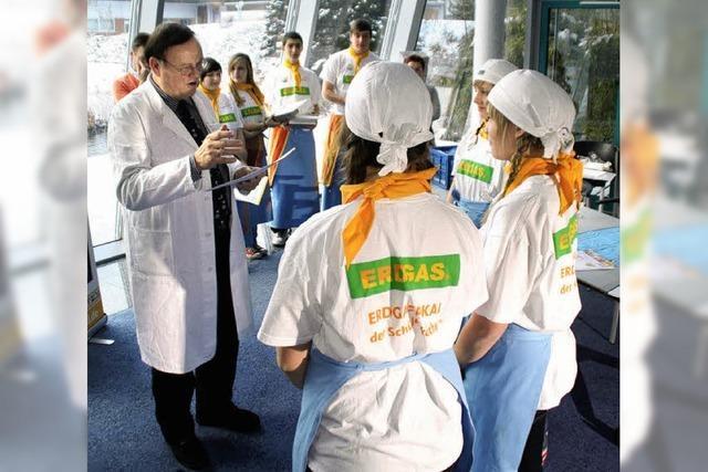 Schüler kochen in Lörrach um die Wette