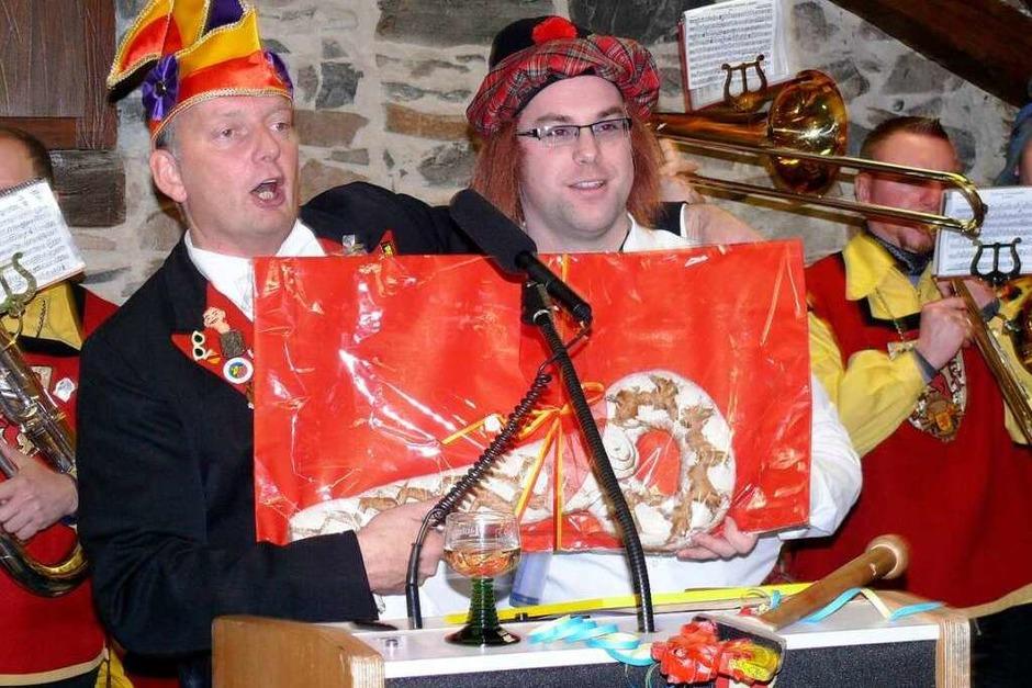 Impressionen von der Proklamation durch den Elferrat im Rathaus und der Eröffnung der Städtlefasnacht (Foto: Saskia Baumgartner)