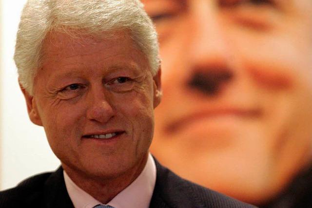 Bill Clinton nach Herzoperation wohlauf
