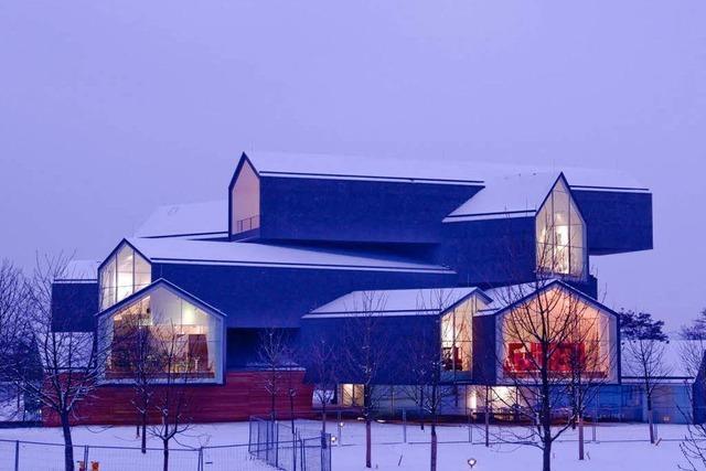Das Vitra-Haus wird zum neuen Wahrzeichen von Weil am Rhein