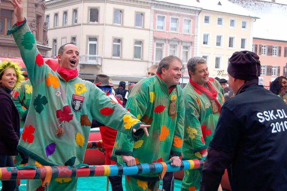 Impressionen vom Narresamschtig 2010 in Bad Säckingen (Foto: Hildegard Siebold)