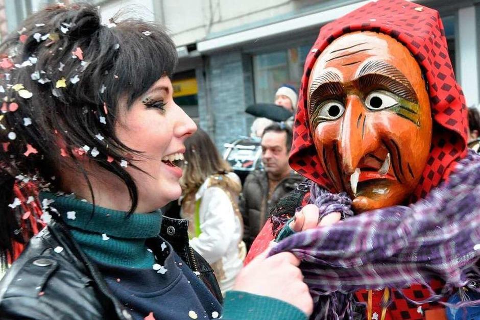 Impressionen vom Lörracher Fasnachtsumzug (Foto: Barbara Ruda)