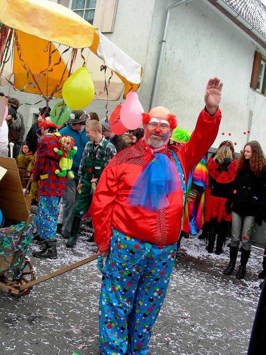 Die Klämle Driebel führte beim Narrena... in Ebringen im Jahr 2018 sein wird.      Foto: Mario Schöneberg