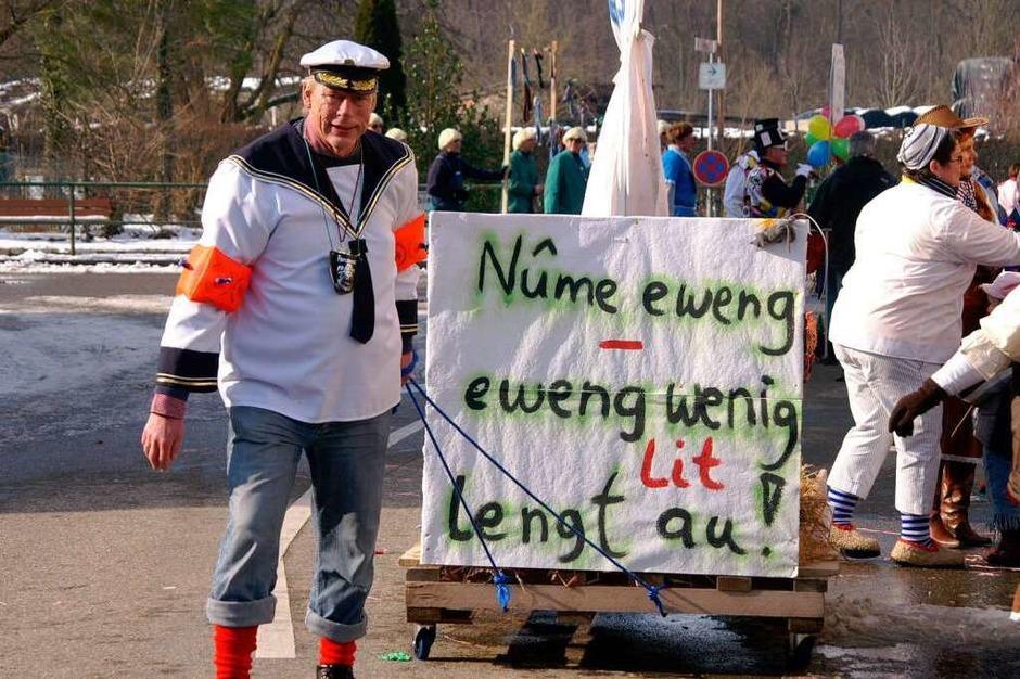 Weisweiler Umzug: So sieht es das Ratsschiff (Foto: Ilona Hüge)