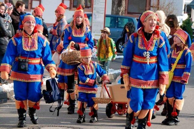 Fotos: Umzüge in Wyhl, Jechtingen und Kiechlinsbergen
