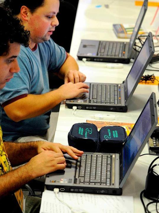 Blogger bei den Olympischen Spielen.  | Foto: dpa
