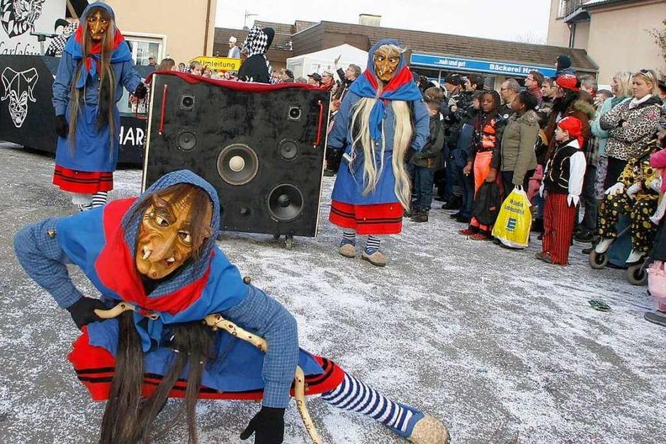 Hästräger und fantasievoll kostümierte Gruppen – der Fasentumzug in Ottenheim (Foto: Heidi Foessel)