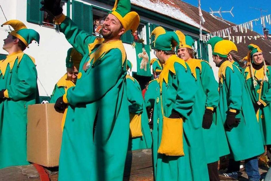 Ihren Spaß hatten die Ewattinger Elfer beim Umzug. (Foto: Juliane Kühnemund)