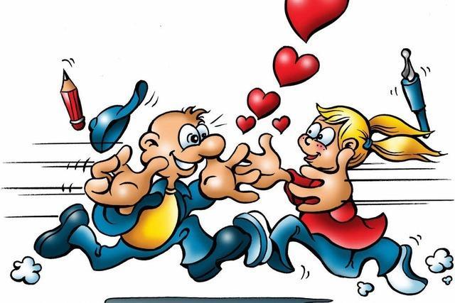 Ein Wettrennen um die Liebe