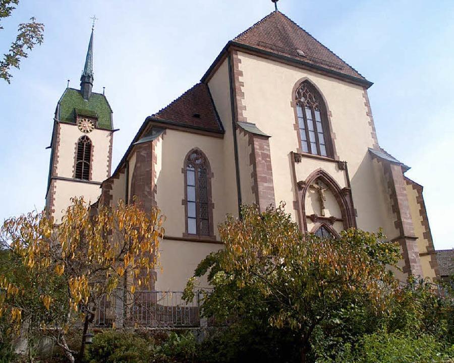 Der scheidende Pfarrgemeinderat St. Ul...en auf die ablaufende Amtszeit zurück.  | Foto: archivfoto: hansjörg bader
