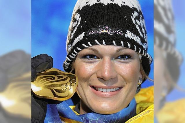 Olympiasiegerin kommt
