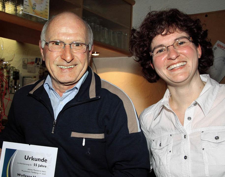 Daniela Zehnle (rechts),   die seit  e...en dem Verein als Mitglied angehört.    | Foto: Sandra Decoux-Kone