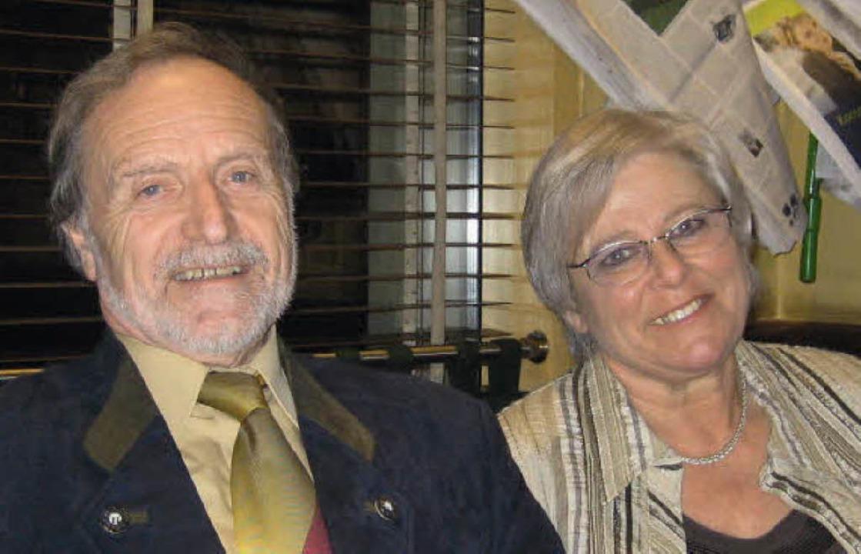 Wolfgang und Helga Miessmer   | Foto: Ulrike Le Bras