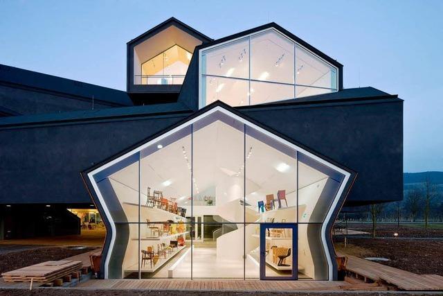 Von Montag an hat das neue Vitra-Haus geöffnet