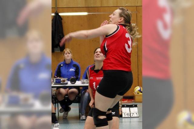 Euphorie am Volleyballnetz