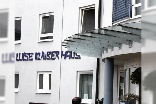 Luise-Klaiber-Haus voll ausgelastet