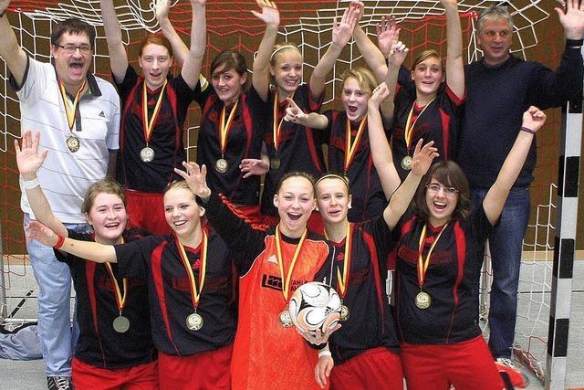 Südbadischer Hallentitel für FC-Mädels