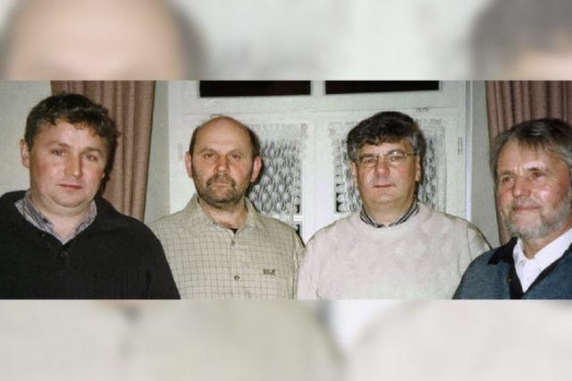 Jagdgenossen St. Peter wählen zum Jubiläum einen neuen Vorstand