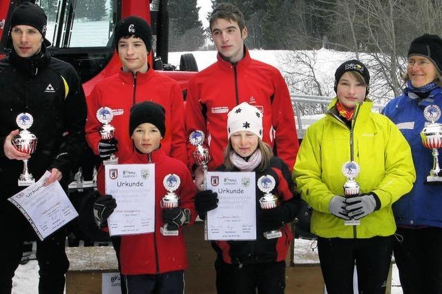 Kolaczewitz ist auch auf Skiern der Schnellste