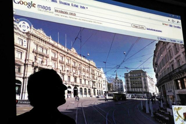 Street View: Google sieht sich auf der sicheren Seite