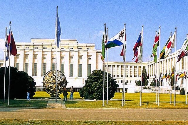 Leserfahrt nach Genf zu UNO und Rotem Kreuz