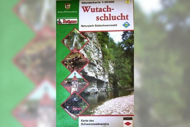 Neue Karte für Wanderer