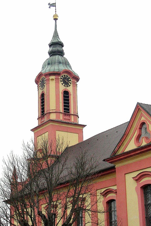 St. Remigius in Merdingen: Die vier Pf...n alle noch eigene Pfarrgemeinderäte.   | Foto: frietsch/schöneberg/reich