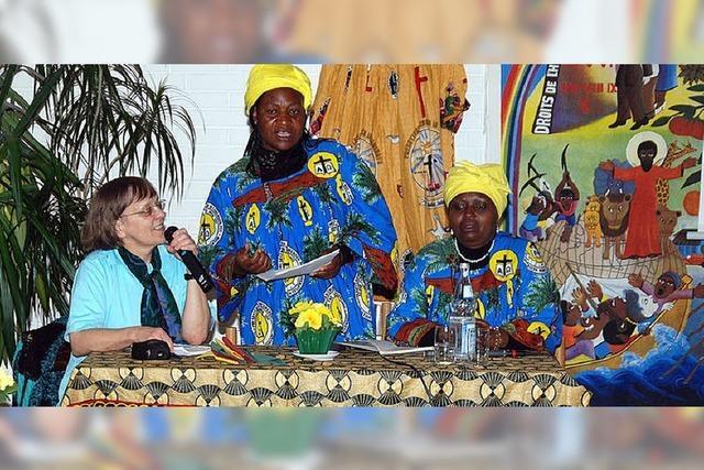 Lebendige Begegnung zwischen Afrika und Baden