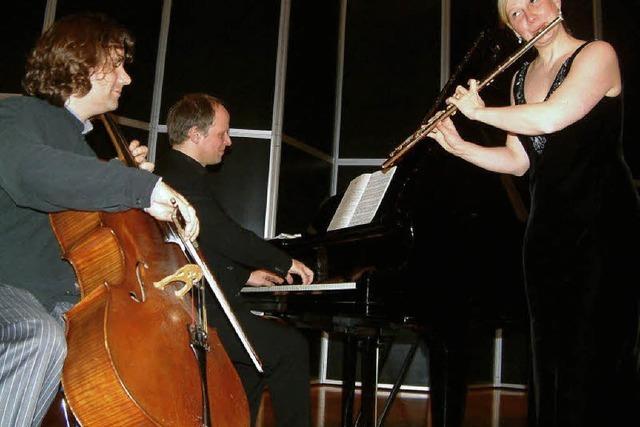 Trio überzeugte mit seltenen Stücken