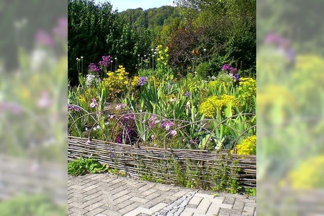 Offene Gartentüren am Hochrhein
