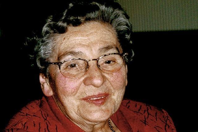 Trauer um Hilda Aberer