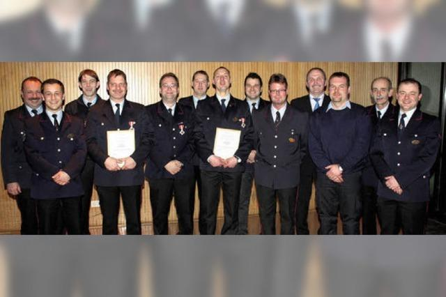 Lob für gut ausgebildete Feuerwehr